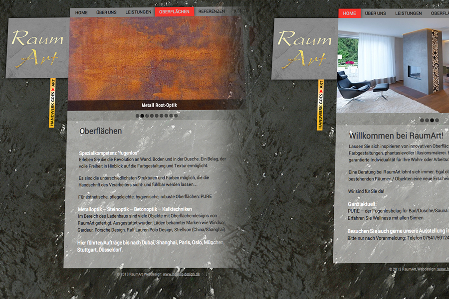 websitegestaltung roland knoer raumart