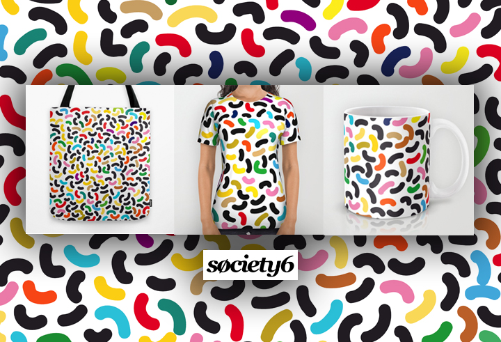 society6 surface design